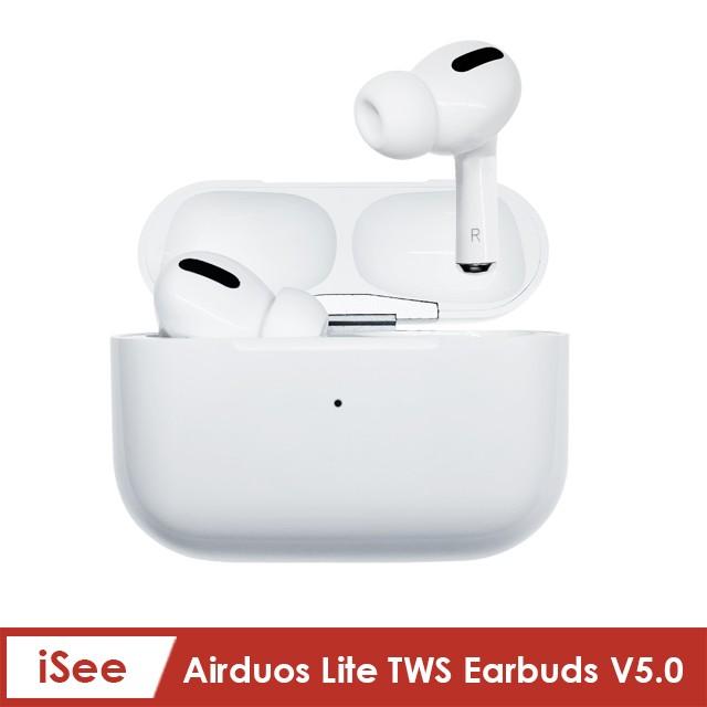 〈iSee〉Airduos Lite TWS Earbuds V5.0真無線立體聲藍牙耳機