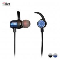 〈iSee〉Magnetic Bluetooth Sports Headphone磁吸運動音樂藍牙耳機-IBS-2767