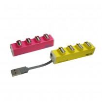 〈SEEHOT〉OTG 4埠 USB2.0 Hub集線器(SH-H809)
