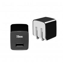 〈iSee〉單口USB快充充電器 (IS-UC15)